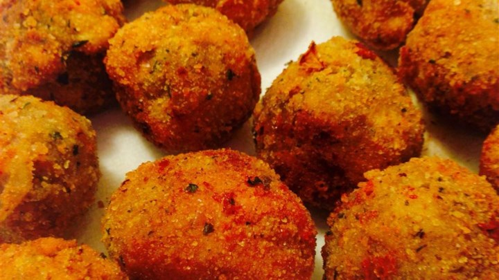 Tasty Fried Eggplant Balls