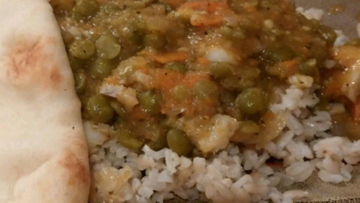 Curry Split Pea Soup