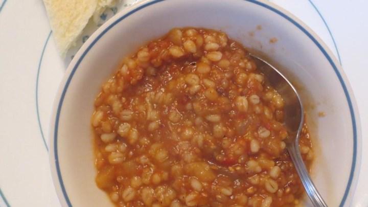 Eggplant Wheat Berry Casserole