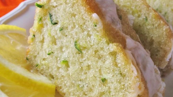 Lemon Zucchini Bars