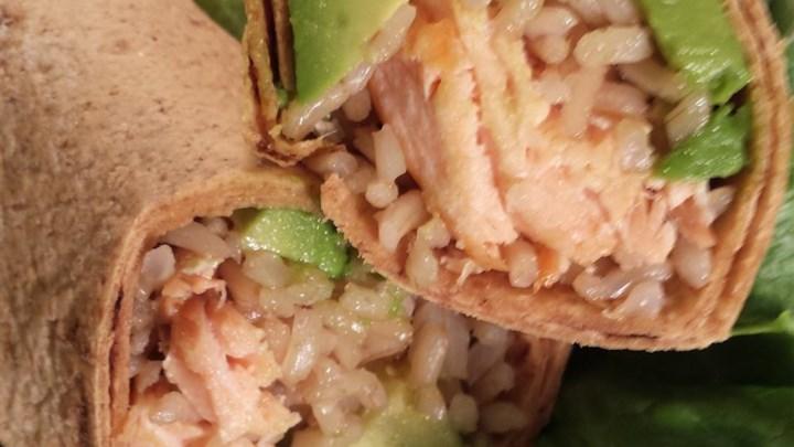 Succulent Salmon Wraps