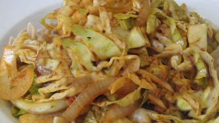 Spicy Cajun Cabbage