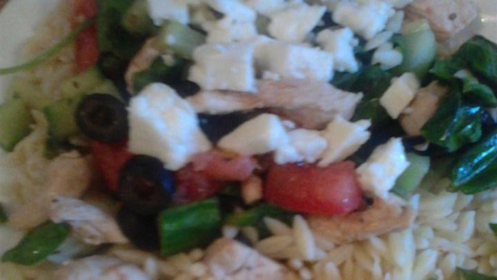 Hot Greek Salad