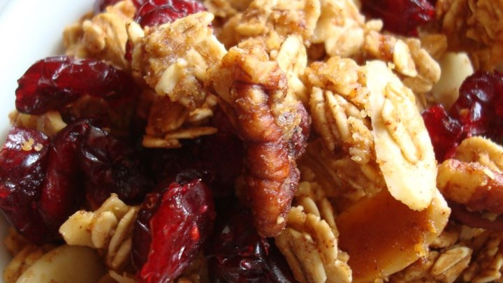Crunchy Pumpkin Pie Granola Recipe - Allrecipes.com