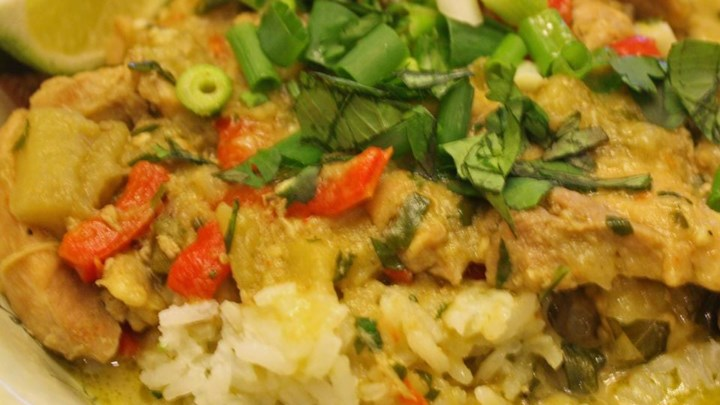 Green Coconut Chicken