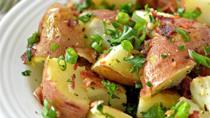 Home Recipes Salad Potato Salad Red Potato Salad