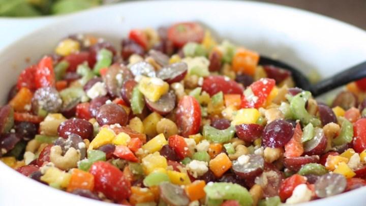 Chopped Cashew Salad