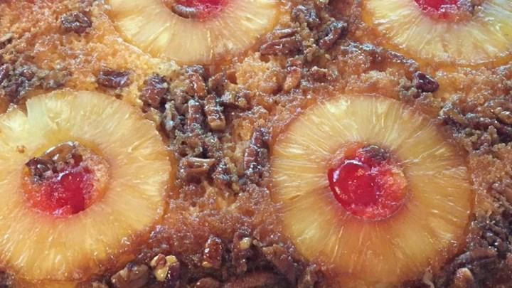 Pineapple Upside-Down Cake V