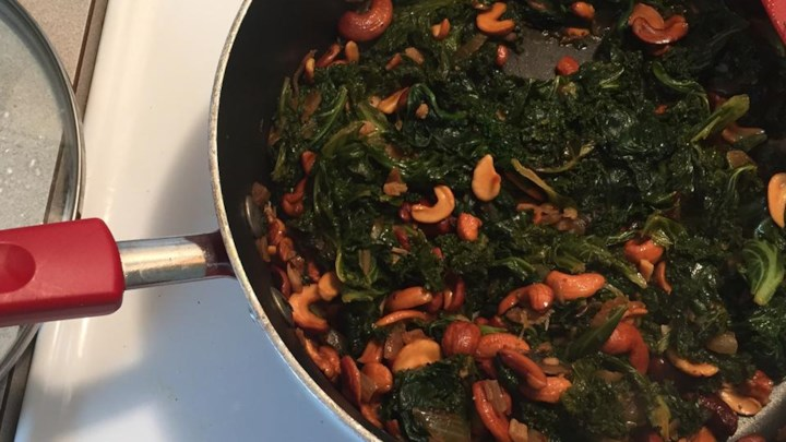 Dawn's Kale Side Dish