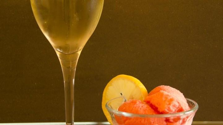 Pink Champagne Sorbet