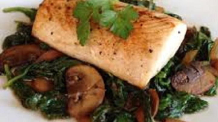 Mahi and Mushrooms
