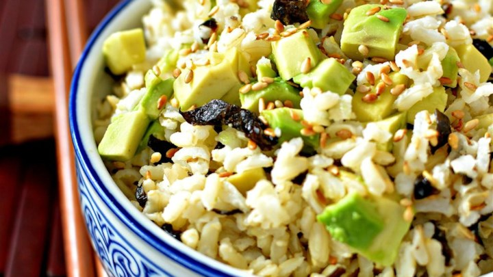 Easy Wakame Brown Rice