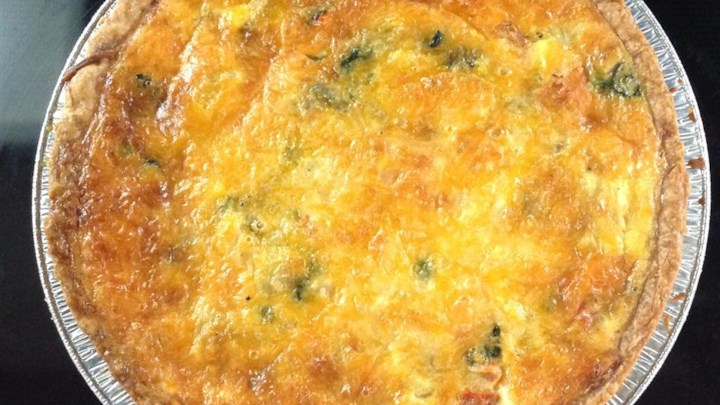 Home Recipes Main Dish Quiche Zucchini Quiche