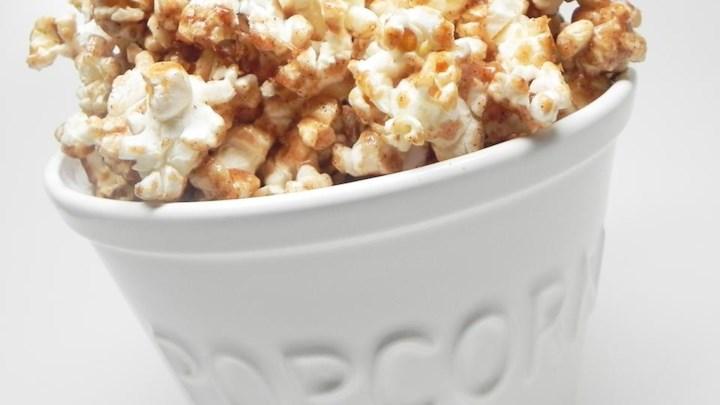 Cinnamon Roll Popcorn