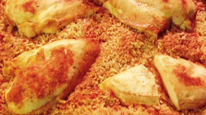 Lemon Pepper Chicken and Rice