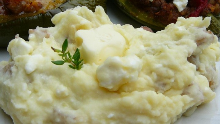 Feta Mashed Potatoes