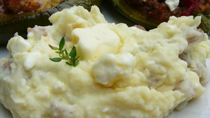 Feta Mashed Potatoes