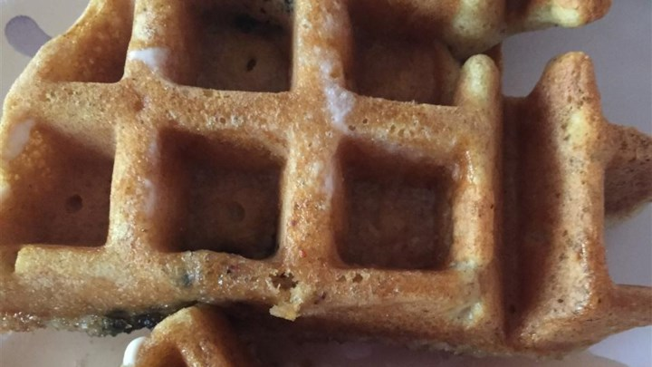 Blueberry Flavored Waffles