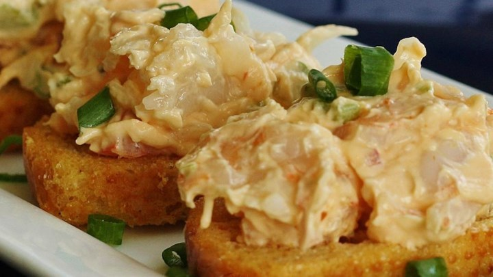 Grandma's Shrimp Salad Sandwiches