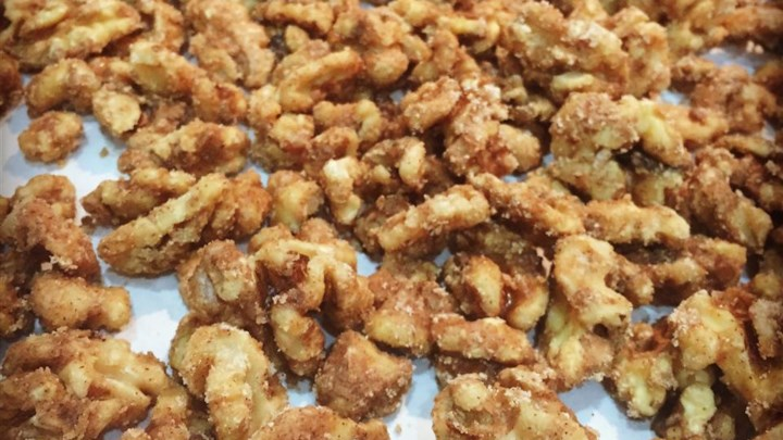 Dawn's Candied Walnuts