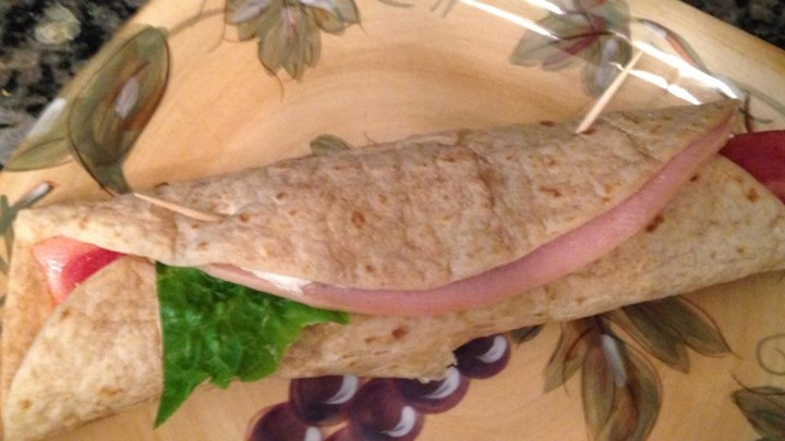 Kickin' Turkey Club Wrap