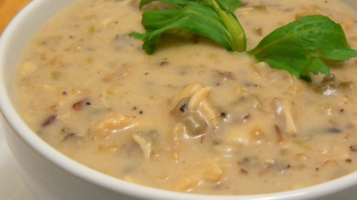 Cream of Chicken with Wild Rice Soup