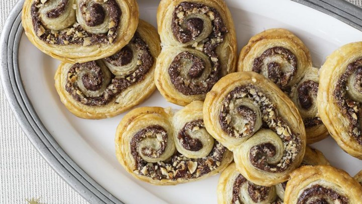Super Easy Hazelnut Pastries