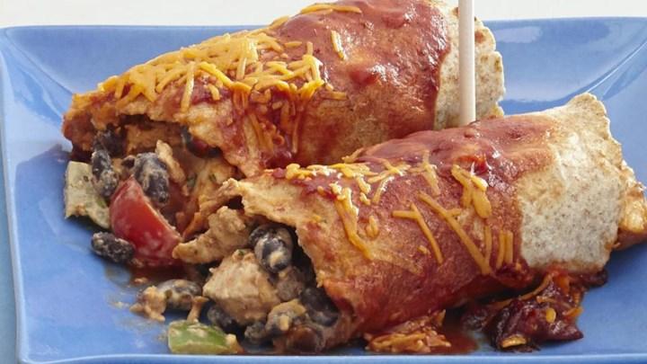 Healthier Chicken Enchiladas I