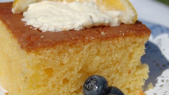 Easy Scratch Lemon Cake Recipe