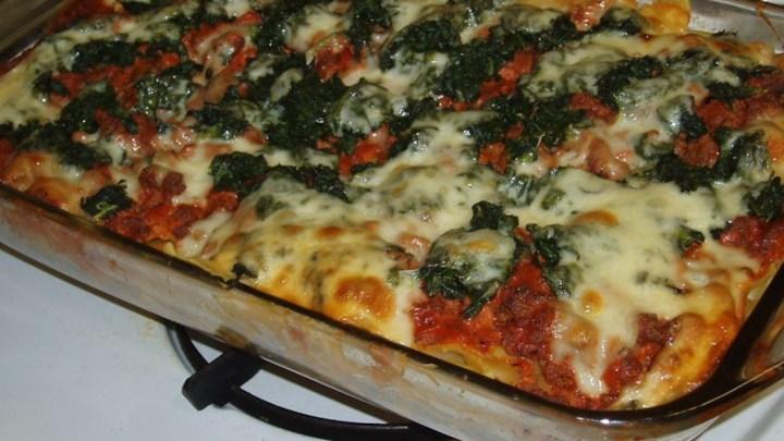 Rita's Spinach Casserole