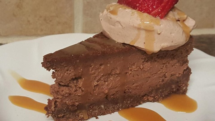 Chocolate Caramel Cheesecake Recipe - Allrecipes.com
