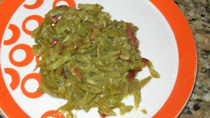 Citrus-Bacon Green Beans