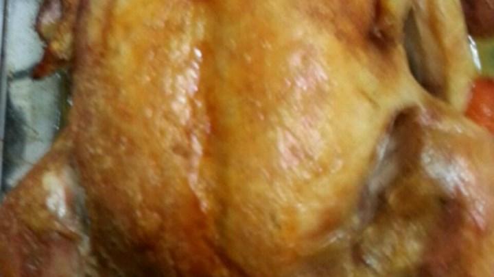 Stupid Simple Roast Chicken