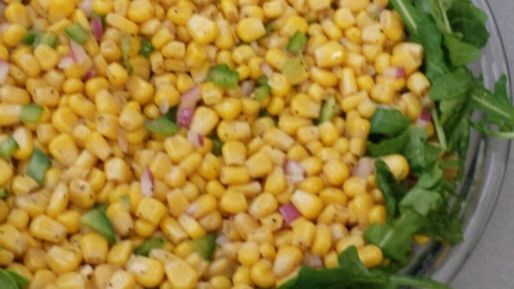 Corn Salad with Arugula