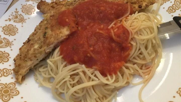 Breaded Parmesan Chicken Recipe - Allrecipes.com