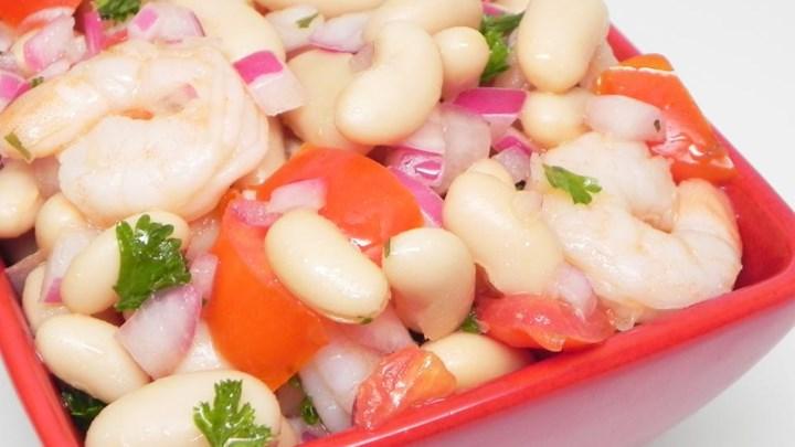 Cannellini Shrimp Salad