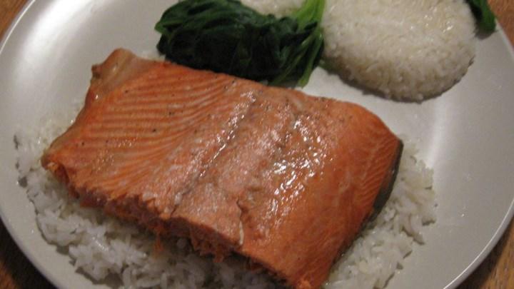 Marinated Salmon 'Smoothly'