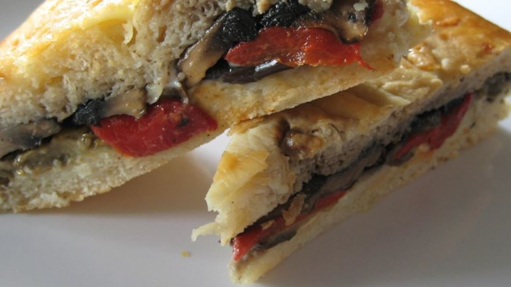 Grilled Mediterranean Vegetable Sandwich
