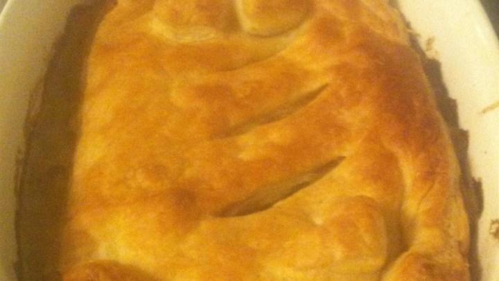 Burgundy Chicken Pie