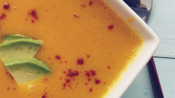 Butternut Squash Soup with a Paleo Kick