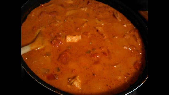 Wendy's Indian Butter Chicken