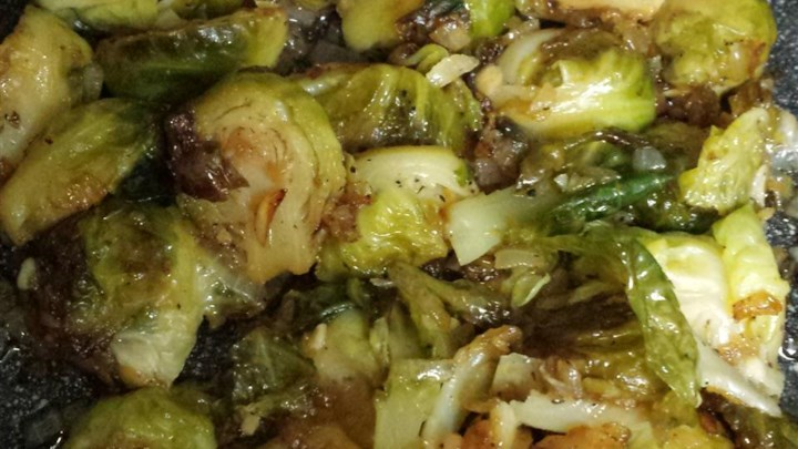 Brussels Sprouts With Browned Butter