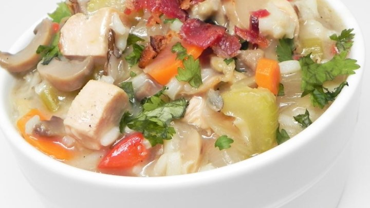Easy Wild Rice Soup