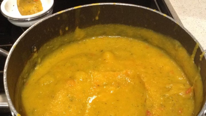 Roasted Three Squash Soup