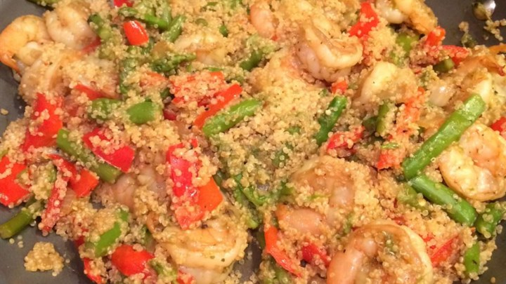Shrimp Quinoa