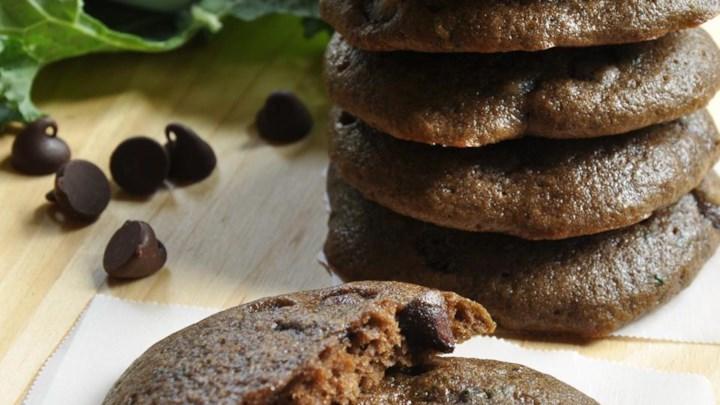 Chocolate Kale Cookies