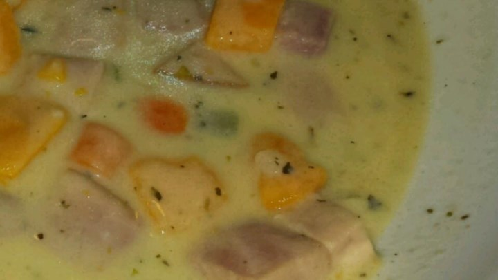 Ham and Sweet Potato Soup