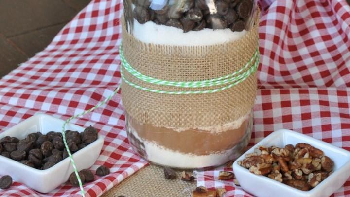 Jo's Brownie Mix in a Jar