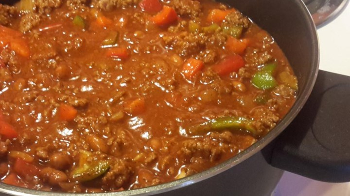 Meaty Thick Man Chili