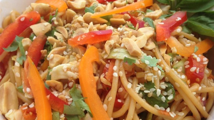 Home Recipes Salad Pasta Salad Vegetarian Pasta Salad